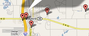 Gaylord Area Lodging